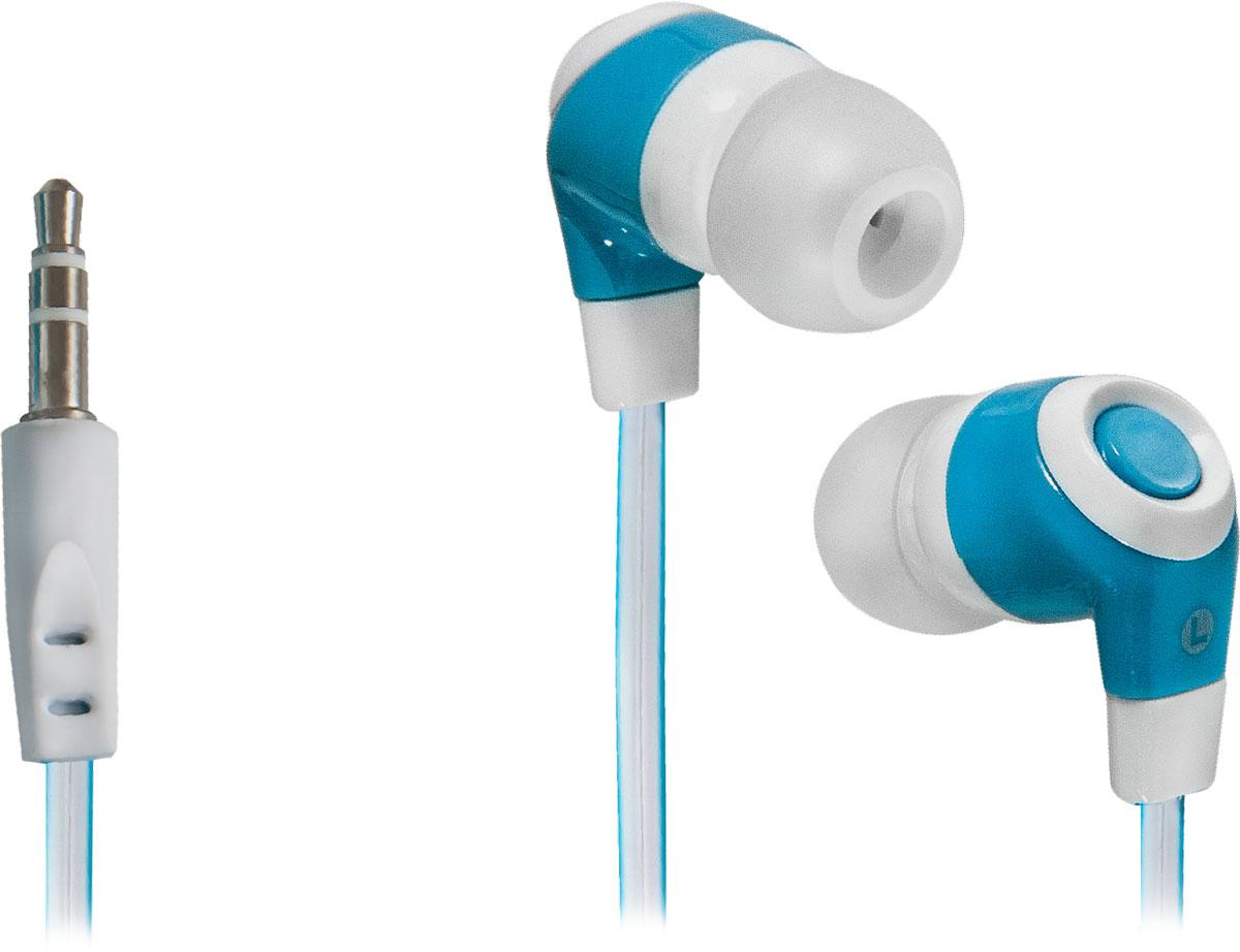 Defender Trendy 702, White Blue наушники63702Defender Trendy 702 - высококачественные наушники с плоским кабелем в стильном цветовом решении. Вы сможете наслаждаться любимыми треками без помех со стороны окружающей обстановки благодаря отличной звукоизоляции, а силиконовые амбушюры создадут комфорт и удобство в использовании устройства.