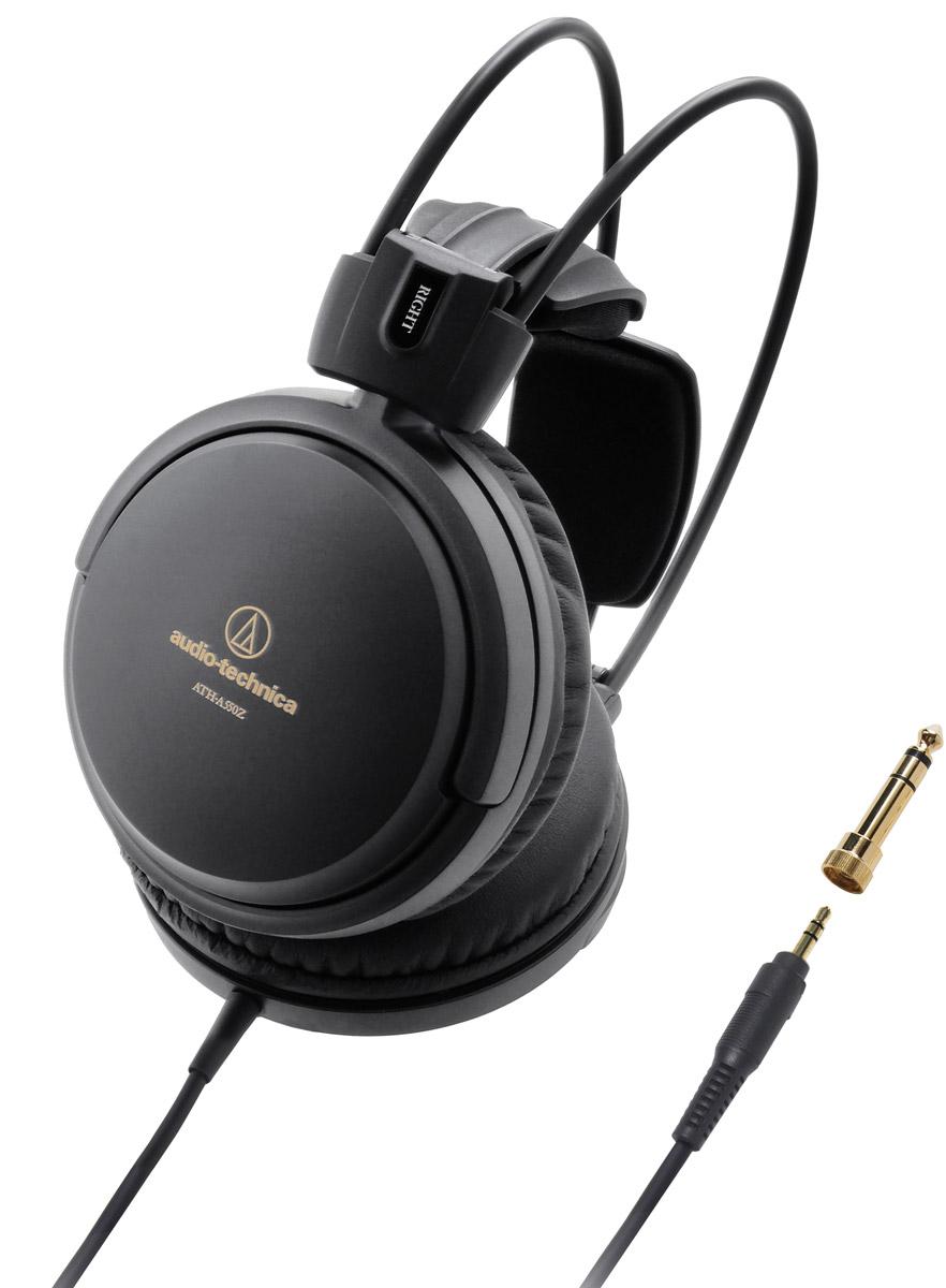 Audio-Technica ATH-A550Z наушники10102364ATH-A550Z – обновление линейки закрытых Hi-Fi-наушников Audio-Technica. Модель использует специально разработанные 53-миллиметровые драйверы, обеспечивающие премиальный звук высокого разрешения. Система двойного демпфирования воздушных колебаний позволяет получить расширенный частотный диапазон для передачи глубоких басов.Большие драйверы диаметром 53 мм обеспечивают Hi-Fi-звучание – мощное и детализированноеИнновационное 3D-крепление для комфортного ношения в течение длительного времениОтличительный чёрный матовый дизайнМягкие премиальные амбушюрыРасширенный частотный диапазон, глубокие басыТрёхметровый кабель с защитой от спутывания