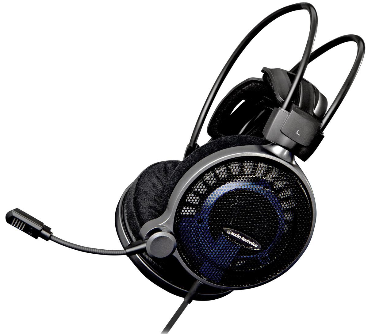 Audio-Technica ATH-ADG1X игровые наушники15118480Применив свой более чем 40-летний опыт разработок в области звуковых технологий, Audio-Technica создала открытую Hi-Fi-гарнитуру АТН-ADG1X, которая предоставляет геймеру звук высокого разрешения максимальной точности. Инновационные драйверы диаметром 53 мм обеспечивают непревзойдённое качество звука, необходимое для полного погружения в виртуальную реальность. Устройство оснащено первоклассным микрофоном для голосовой коммуникации в ходе игры, кабелем длиной 1,2 м и двухметровым удлинителем.Гарнитура АТН-ADG1X совместима с платформами PC, Mac, PS4, iPad/iPhone, а также с Xbox One (при использовании специального адаптера).Большие драйверы диаметром 53 мм обеспечивают премиальное Hi-Fi-звучаниеСаморегулирующееся 3D-крепление для комфортного ношения в течение длительного времениМикрофон обеспечивает кристально чистый звук в ходе игровых переговоровМягкие амбушюры наивысшего качестваВ комплекте 2-метровый удлинитель (2x3,5 мм) и ветрозащита для микрофона, которая защищает звукопередачу от шума дыханияТип микрофона: конденсаторныйДиапазон частот микрофона: 100-12000 ГцЧувствительность микрофона: -41 дБ