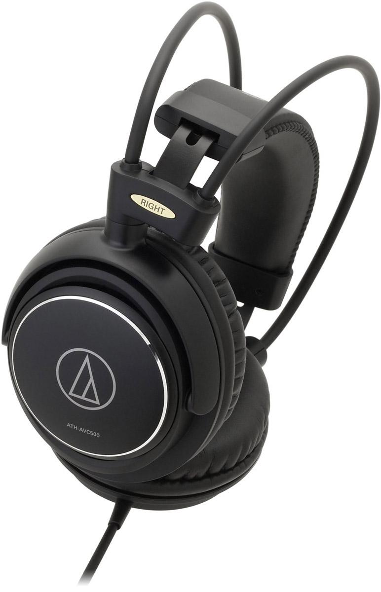 Audio-Technica ATH-AVC500 наушники4961310131739Audio-Technica ATH-AVC500 – это мониторные высококачественные наушники в прочном антивибрационном алюминиевом корпусе. Модель обеспечивает классное звучание и идеально подходит для домашнего прослушивания аудио- и видеосистем. Облегчённая конструкция и двойное оголовье позволяют наслаждаться музыкой в течение длительного времени.Большие 53-мм драйверы и звуковая CCAW-катушка обеспечивают качественное звучание на широком диапазоне частотАлюминиевый корпус подавляет нежелательные вибрацииСаморегулирующееся двойное оголовье и мягкие амбушюры обеспечивают комфортную посадку