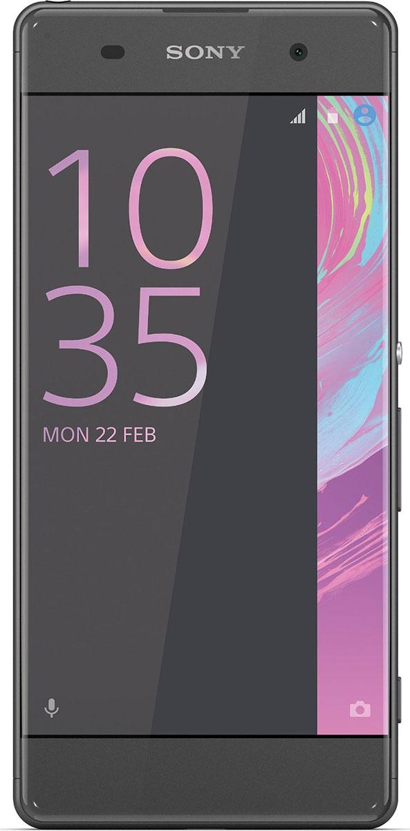 Sony Xperia XA, Graphite Black7311271556633Смартфон - та вещь, которую вы всегда берете с собой. Поэтому Xperia XA спроектирован так, чтобы гармонично вписаться в вашу жизнь. Его дисплей занимает всю переднюю панель, края закруглены, а размер как раз такой, чтобы комфортно лежать в руке.Дисплей Xperia XA занимает всю ширину передней панели и его рамка почти не видна. Таким образом, мы увеличили размер дисплея, не увеличивая сам смартфон.Камера Xperia XA всегда готова к съемке - достаточно лишь нажать кнопку быстрого запуска. Впредь вы никогда не упустите даже самых быстротечных моментов.Снимайте только яркие, четкие фотографии. Xperia XA оснащен гибридным автофокусом, наводящим резкость менее чем за секунду. Вы также можете вручную сфокусировать изображение в любой точке, даже в углах: просто коснитесь дисплея в нужном месте.Хотите сделать селфи на вечеринке или запечатлеть ночной городской пейзаж? В Xperia XA используются высокочувствительные матрицы, поэтому вы получите четкие фотографии даже в условиях низкой освещенности, с какой бы камеры ни снимали.Одного заряда Xperia XA хватает до 2 дней работы. Это значит, что вы можете еще дольше слушать любимую музыку и общаться с друзьями, не вспоминая о зарядном устройстве. Уходите гулять, и нужно быстро подзарядить смартфон? С помощью устройства для быстрой зарядки UCH12 уже через 10 минут аккумулятор Xperia XA получит достаточно энергии, чтобы проработать до пяти с половиной часов.Xperia XA оснащен передовым 64-разрядным восьмиядерным процессором, который экономно расходует заряд аккумулятора.Телефон сертифицирован EAC и имеет русифицированный интерфейс меню и Руководство пользователя.