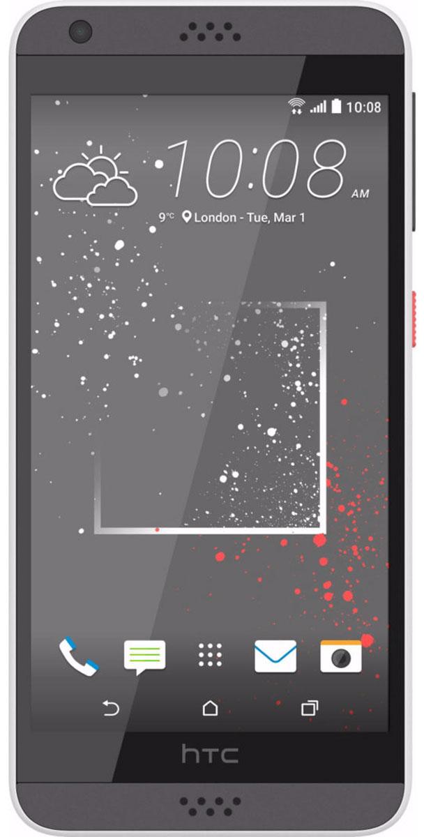 HTC Desire 530, Stratus White99HAHW066-00Где бы ты не находился, смартфон HTC Desire 530 станет твоим надежным помощником. Его технические возможности позволят забыть о компромиссах (обрати внимание на отличные фронтальную и основную камеры), а корпус, выполненный из материала soft-touch, и крепление для ремешка на руку сделают использование смартфона чрезвычайно удобным.Выпускные балы, решающие голы, яркие эмоции на аттракционах - нередко бывает тяжело поймать тот самый незабываемый кадр. С HTC Desire 530 снимать легко и просто: все технические задачи решены, и тебе остается просто нажать кнопку спуска затвора.Основная камера 8 Мпикс с автофокусом позволяет делать четкие снимки. С фронтальной камерой 5Мпикс тебе будет доступна съемка в режимах Автоселфи и Голосовое селфи, а все твои работы будут сохраняться в отдельный альбом Автопортреты. Добавь креативности своим селфи!HTC Desire 530 оснащен высококачественным усилителем, который позволяет добиться максимальной мощности на выходе и воспроизвести впечатляющий диапазон частот без искажения звука. Аудио профиль HTC BoomSound с Dolby Audio выводит музыку на совершенно новый уровень: композиции будут звучать потрясающе, какие бы наушники ты не выбрал. Такого ты ещё не слышал!Настраивай оформление рабочих экранов, пользуйся удобным виджетом, автоматически подбирающим нужные тебе в данный момент приложения, а также получай актуальные рекомендации и ссылки на интересные материалы о том месте, где ты сейчас находишься. HTC Desire 530 предлагает тебе простые и эффективные решения персонализации устройства.Настрой свой смартфон так, как ты этого хочешь. От тебя зависит, какой формы или размера будут иконки приложений, ты сам определяешь, какими должны быть мелодия звонка или оформление рабочих экранов. С приложением HTC Темы любая твоя фотография может стать основой для нового творческого решения.Телефон сертифицирован EAC и имеет русифицированный интерфейс меню, а также Руководство пользователя.