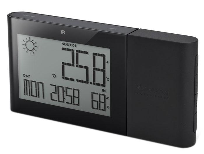 Oregon Scientific BAR266, Black погодная станцияBAR266-bМетеостанция Scientific BAR266 с функцией прогноза погоды на ближайшие 12-24 часа. Измеряет комнатную температуру и влажность, а так же измеряет наружную температуру и влажность с индикатором тенденции изменений (стрелочный индикатор: рост, стабильно, спад). Имеет память для сохранения мин / макс значений комнатной / наружной температуры / влажности в течении суток. Предупредит о заморозках индикатором встроенным в корпус устройства. Дополнительно реализованы функции часов и календаря.