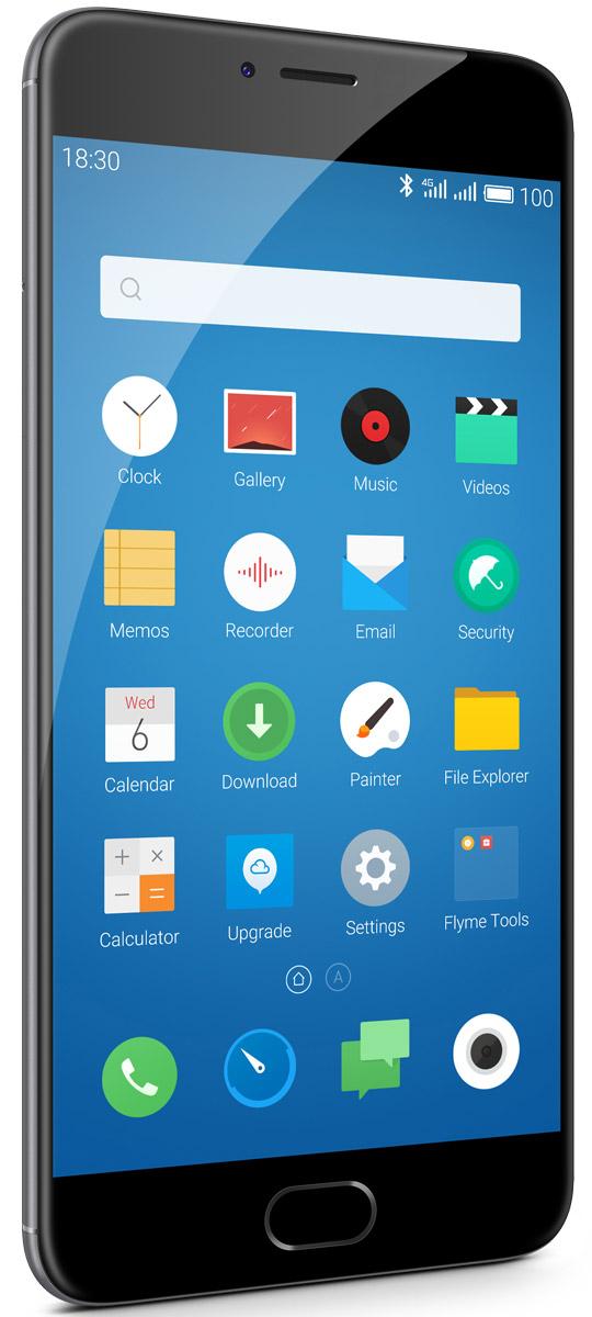 Meizu M3 Note 32GB, Grey BlackL681H-32-GBСмартфон Meizu М3 Note обладает превосходным дизайном и изготовлен с использованием высококачественных компонентов. Благодаря корпусу из авиационного алюминиево-магниевого сплава 6000-й серии, в сочетании с современной технологией анодизации, Meizu М3 Note предлагает владельцу испытать незабываемые тактильные ощущения. С невероятной комбинацией 2.5D стекла на передней панели и цельнометаллическим обтекаемым дизайном корпуса сзади, смартфон М3 Note удалось сделать не только восхитительно красивым, но и крайне удобным в использовании. Совершенно новая философия дизайна, с соблюдением концепции полной симметрии, придают внешнему виду устройства легкость и элегантность.Основанный на технологии TSMC НРС+, Helio P10 имеет лучший коэффициент энергоэффективности EER среди всех прочих процессоров MediaTek. Процессор автоматически регулирует частоту CPU и GPU для снижения энергопотребления, при сохранении максимальной производительности, достаточной для выполнения текущих задач. 8 ядер Cortex-A53 обеспечивают невероятно плавную работу интерфейса, а также выполнение ресурсоемких задач, например, 3D-игр. Быстрый 64-битный графический ускоритель Mali-T860 отвечает за вывод оптимальной картинки на дисплей смартфона.Благодаря годами накопленному опыту в разработке смартфонов, Meizu удалось сделать корпус М1 Note на 0.5 мм тоньше, чем Meizu М2 Note, оснастив смартфон батарейкой емкостью на 32% больше, чем у предшественника! За счет уникальной комбинации оптимизированной оболочки FLYME и энергоэффективности процессора Helio Р10, Meizu М3 Note показывает невероятные результаты по длительности работы от одной зарядки: до 2 дней работы в активном режиме использования, до 17 часов просмотра видео без остановки, до 36 часов прослушивания музыки.Meizu М3 Note использует флагманскую технологию разработки материнской платы в 10 слоев, чтобы уменьшить пространство, занимаемое ее элементами и уменьшить габариты платы, сделав ее максимально компактной. 