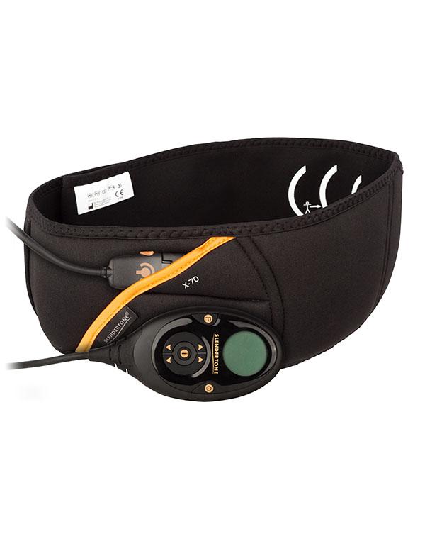 Slendertone Пояс миостимулятор для тренировки мышц пресса для мужчин ABS71701034SПродвинутая модель цифрового миостимулятора Флекс для накачки мышц пресса в кратчайшие сроки. 150 уровней интенсивности, 10 программ, сенсорное управление, ЖК дисплей, неопреновый пояс.Уникальность C.S.I технологии, применяемой только в Slendertone Flex, заключается в том, что сокращения мышц происходят за счет воздействия на стволовые нервные окончания, поэтому сокращаются не только мышцы непосредственно прилегающие к электродам, а все мышцы входящие в данную мышечную группу одновременно: верхняя, нижняя и средняя часть прямых мышц пресса, косые мышцы пресса, мышцы гиза спины.Противопоказания: хроническая сердечная недостаточность,электронные имплантанты, опухоли, беременность,эпилепсия, грыжа. Комплектация:Блок управления - 1шт; Неопреновый эластичный пояс - 1шт.;К-т клейких электродных накладок - 2шт.;6 алкалайновых пальчиковых батарейки типа АА;Сумка-чехол;Инструкция по эксплуатации, методические материалы по применению.Производитель:Био-Медикал лтд.Ирландия.