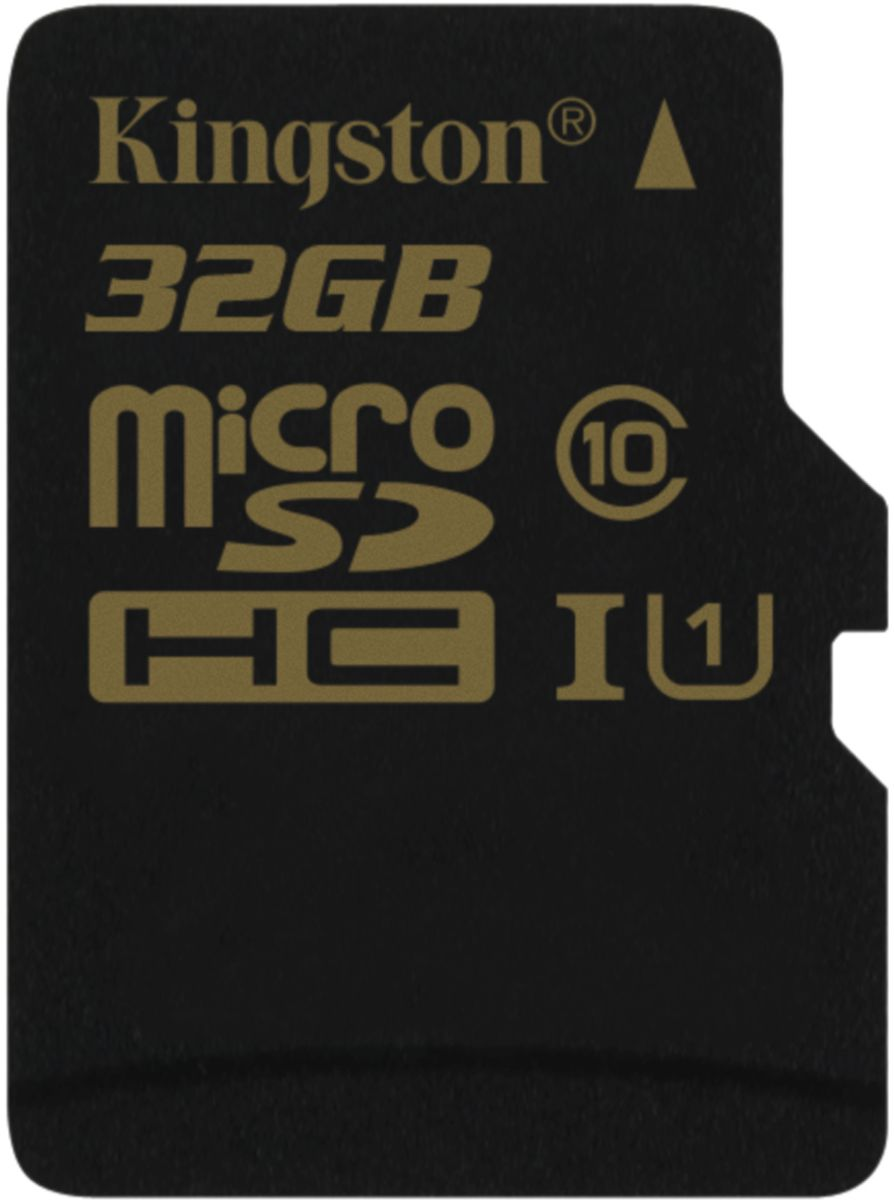 Kingston microSDHC Class 10 UHS-I 32GB карта памяти (90/45 Мб/с)
