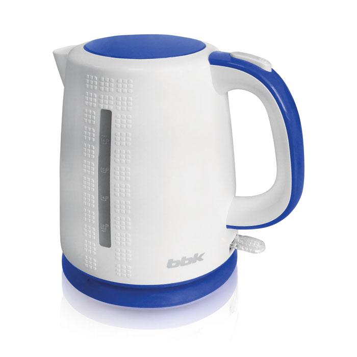 BBK EK1730P, White Light Blue электрический чайникEK1730P бел/голЭлектрический чайник BBK EK1730P отличается 3D дизайном на корпусе, мощностью 2200 Вт и емкостью 1,7 литра. Устройство снабжено высококачественным английским контроллером KeAi, благодаря чему срок эксплуатации увеличен в 5 раз. Чайник расположен на подставке с возможностью поворота на 360° и с отсеком для хранения шнура. Съемный фильтр от накипи и скрытый нагревательный элемент гарантированно обеспечат надежность, долговечность и максимально комфортное ежедневное использование.