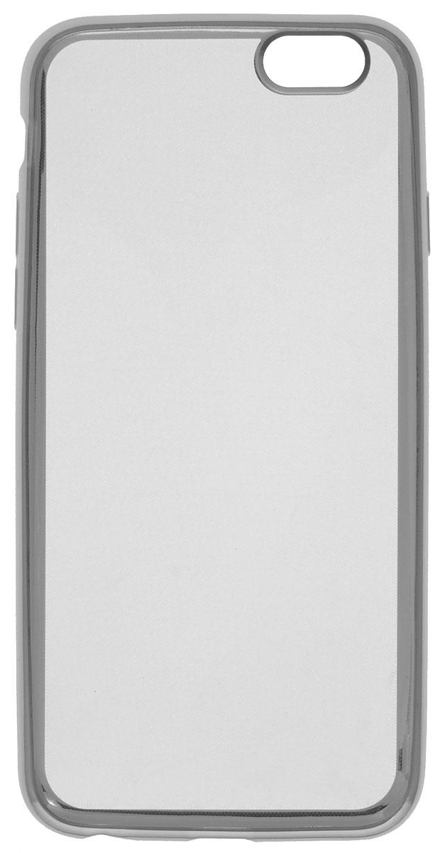 Red Line iBox Blaze чехол для iPhone 6/6s, SilverУТ000008419Декоративный защитный чехол Red Line iBox Blaze для iPhone 6/6s с эффектом металлических граней надежно защитит заднюю крышку смартфона от пыли, царапин и других возможных повреждений.