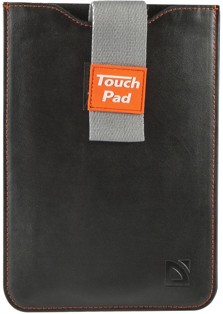Defender Glove uni 10.1, Black чехол для планшета26049Компактный чехол - конверт Defender Glove uni 10,1 предназначен для переноски и хранения планшета. Ремешок препятствует выпадению устройства, а потянув за него можно легко извлечь ваш гаджет. Чехол оптимально подходит для транспортировки в сумке большего размера и обеспечивает надежную защиту планшета от повреждений, ударов и царапин.