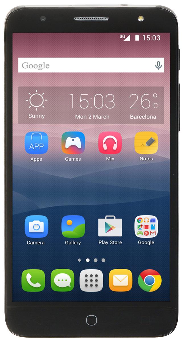 Alcatel OT-5056D Pop 4 Plus, Dark Grey5056D-2GALRU1Alcatel OT-5056D Pop 4 Plus - стильный и недорогой смартфон со всеми современными функциями и возможностями.HD IPS экран смартфона Alcatel OT-5056D Pop 4 Plus с диагональю 5,5 дюймов позволит вам наслаждаться кино, играми и другими развлечениями.Четырехъядерный процессор обеспечивает плавную работу сразу нескольких приложений, запущенных одновременно. А благодаря технологии 4G LTE вы сможете быстрее загружать видео и с комфортом просматривать страницы в Интернете.Благодаря 8-мегапиксельной основной камере со множеством фильтров и автофокусом на лице, а также 5-мегапиксельной фронтальной камере вы можете создавать яркие и интересные фотоснимки.Используйте встроенный в телефон приёмник GPS для определения своего местоположения с точностью до нескольких метров.Телефон сертифицирован EAC и имеет русифицированную клавиатуру, меню и Руководство пользователя.