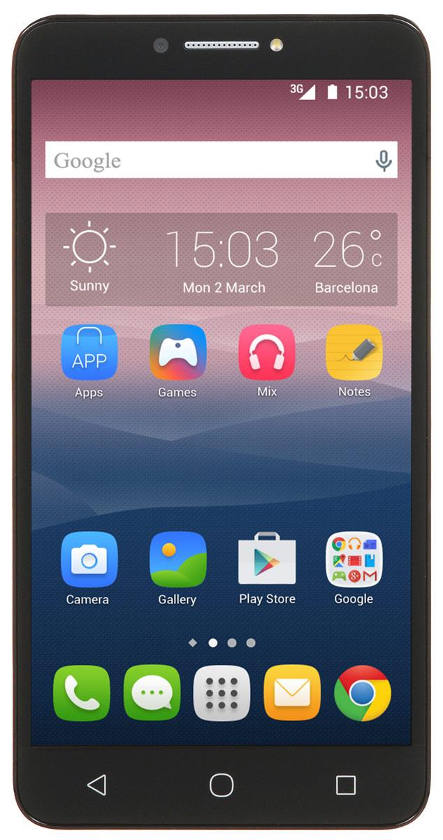 Alcatel OT-9001D Pixi 4 (6), Black9001D-2AALRU1Стильный смартфон Alcatel OT-9001D Pixi 4 (6) под управлением Android 6 с поддержкой 2 SIM-карт. Большой дисплей диагональю 6 имеет разрешение 1280х720 пикселей. Устройство также оснащено основной 8-мегапиксельной камерой с автофокусом, которая с легкостью запечатлеет радостные и интересные моменты вашей жизни, а также фронтальной камерой с разрешением 5 мегапикселей для эффектных селфи. С помощью встроенных модулей Bluetooth и Wi-Fi вы можете передавать информацию (изображения, видео- и аудиофайлы) по беспроводному соединению. Четырехъядерный процессор, 16 Гб памяти, многоэкранный режим — это как мощный компьютер. Только на вашей ладони!Телефон сертифицирован EAC и имеет русифицированный интерфейс меню и Руководство пользователя.