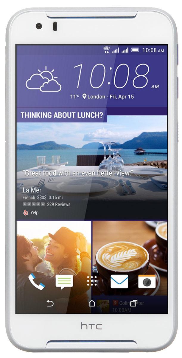 HTC Desire 830 dual sim, Cobalt White99HAJU032-00Представляем HTC Desire 830 dual sim. Смартфон, который заметят окружающие: эффектные цветовые решения корпуса, внушительные аудио характеристики и отличные фронтальная и основная камеры.Корпус устройства, выполненный из материала soft-touch, ребристая кнопка включения, крепление для ремешка на руку делают изделие исключительно удобным в использовании. Наличие двух SIM-карт позволит разделить рабочие и личные звонки.Выпускные балы, решающие голы, яркие эмоции на аттракционах - нередко бывает тяжело поймать тот самый незабываемый кадр. С HTC Desire 830 dual sim снимать легко и просто: все технические задачи решены, и тебе остается просто нажать кнопку спуска.Основная камера 13 Мпикс поможет снимать отличные фото и видео. При необходимости фото можно отредактировать во встроенном Фоторедакторе, а также при желании добавить фотоэффекты - например, применить Двойную экспозицию.В HTC Desire 830 dual sim реализована поддержка двух SIM-карт. А это означает, что ты сможешь разделять рабочие и личные контакты или , например, использовать наиболее выгодный тариф для путешествий и при этом оставаться доступным по своему постоянному номеру.Телефон сертифицирован EAC и имеет русифицированную клавиатуру, меню и Руководство пользователя.