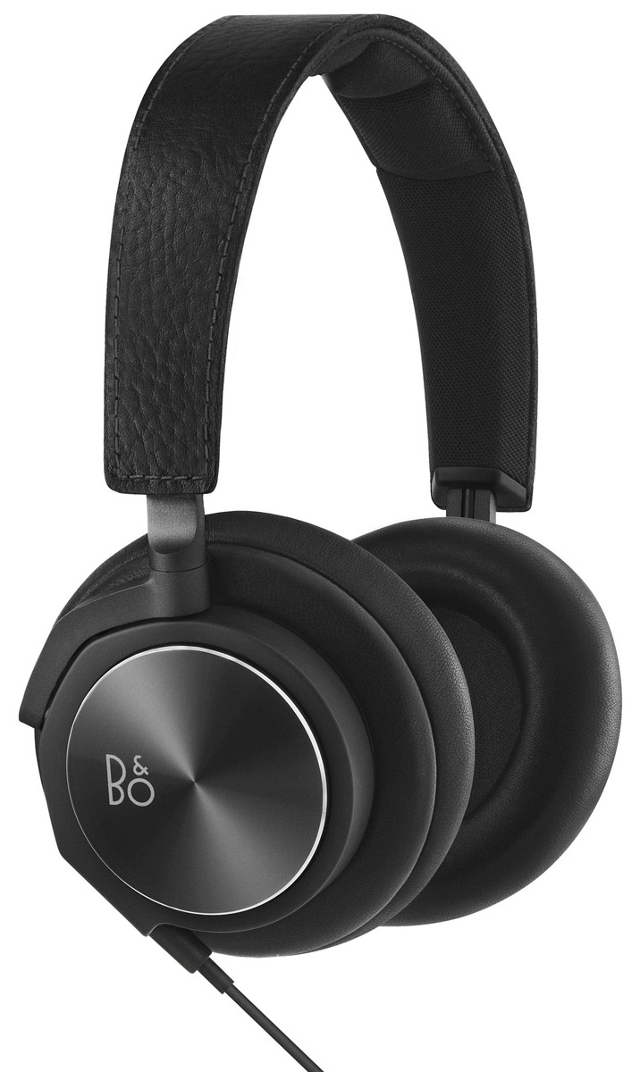 Bang & Olufsen BeoPlay H6 2 Generation, Black Leather наушники колонка bang & olufsen beoplay a2 active natural
