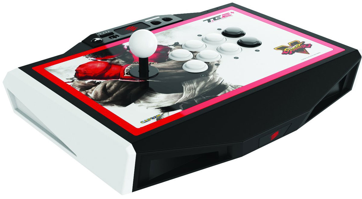 Mad Catz Street Fighter V Arcade TE2+ аркадный стик для PS4 (SFV89481BSA1/01/1) - Геймпады, джойстики, рули