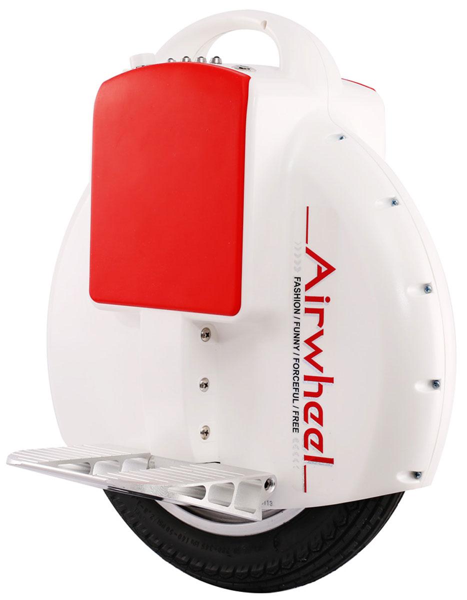 Airwheel X3S, White одноколесный гироциклAIRWHEEL X3S-130WH-WHITEКомпактное моноколесо с одноколесной конструкцией и диаметром 14 дюймовГироскопЗащита от пыли и влагиИндикатор зарядаРучка для переноски130WHМатериал корпуса: Металл; Пластик