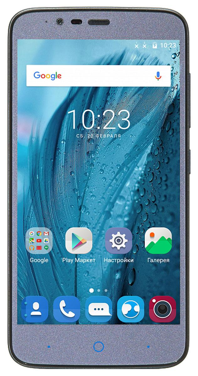 ZTE Blade A310, GrayZTE BLADE A310 GREYСмартфон ZTE Blade A310 в сочетании с невысокой стоимостью может обеспечить пользователю высокоскоростной мобильный интернет, быстродействие и производительность системы.Наличие в смартфоне технологии 4G LTE значительно увеличивает скорость и качество мобильного интернета, позволяя всегда оставаться онлайн и комфортно взаимодействовать с интернет-ресурсами.Сочетание четырехъядерного процессора Qualcomm Snapdragon 210 и 1 ГБ оперативной памяти обеспечивают плавную работу системы и стабильный процесс выполнения повседневных задач.Смартфон работает на базе новой операционной системы Android 6.0, которая получила ряд функций, играющих важнейшую роль в работе смартфона – оптимизаторы энергопотребления, расширенные возможности безопасности, обновленный интерфейс.Смартфон ZTE Blade A310 имеет большой 5-дюймовый дисплей, который расширяет для пользователя возможности просматривания интернет-страниц, видео и фото, а также чтения электронных книг.Смартфон обладает слотом для установки двух сим-карт – разделяйте личные и рабочие звонки, выбирайте удобные тарифы в поездках и пользуйтесь интернетом независимо от вашего места нахождения.Смартфон сертифицирован EAC и имеет русифицированную клавиатуру, меню и Руководство пользователя.
