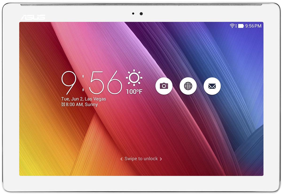 ASUS ZenPad 10 Z300M, White (Z300M-6B055A)Z300M-6B055AAsus ZenPad 10 Z300N имеет дизайн-философию Zen, которая направлена на разработку красивых и высокотехнологичных устройств - роскоши, доступной для каждого. Внешний вид этого планшета - яркий, стильный, современный - не оставит равнодушным ни одного пользователя!Великолепное изображение:ASUS VisualMaster - это общее название комплекса аппаратных и программных средств улучшения изображения за счет оптимизации множества параметров, включая контрастность, резкость, цветопередачу, яркость. ASUS VisualMaster - залог красочной и реалистичной картинки на экране планшета.Интеллектуальная оптимизация контрастности:Оптимизация контрастности служит для более точной передачи оттенков в самых ярких и самых темных участках изображения.Оптимизация резкости:Увеличение детализации делает изображение на экране планшета более реалистичным.Невероятный звук:За великолепное звучание планшетов ZenPad отвечают передовые аудиотехнологии DTS-HD Premium Sound и SonicMaster.Ты увидишь то, что скрыто:Используя технологию PixelMaster, камера ZenPad может снимать панорамные селфи, охватывающие угол до 140 градусов. На такой автопортрет поместитесь не только вы сами, но и все ваши друзья!Планшет сертифицирован EAC и имеет русифицированный интерфейс, меню и Руководство пользователя.