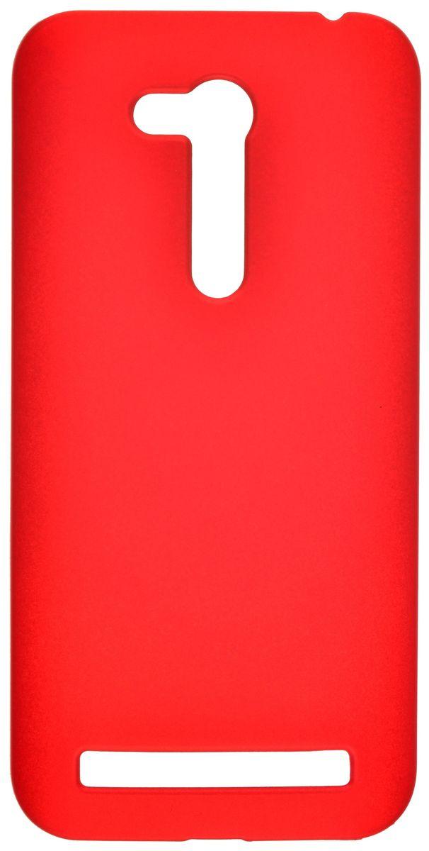 Skinbox Shield Case 4People чехол-накладка для Asus Zenfone Go ZB452KG, Red2000000092539Чехол Skinbox Shield Case для Asus Zenfone Go ZB452KG надежно защитит ваш смартфон от внешних воздействий, грязи, пыли, брызг. Он также поможет при ударах и падениях, не позволив образоваться на корпусе царапинам и потертостям. Чехол обеспечивает свободный доступ ко всем функциональным кнопкам смартфона и камере.