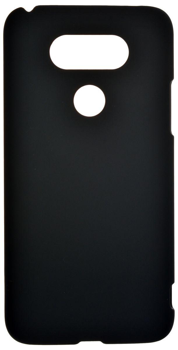 Skinbox Shield Case 4People чехол-накладка для LG G5, Black2000000092560Накладка для LG G5 skinBOX Shield case 4People. Чехол надежно защитит ваш смартфон от внешних воздействий, грязи, пыли, брызг. Он также поможет при ударах и падениях, не позволив образоваться на корпусе царапинам и потертостям. Чехол обеспечивает свободный доступ ко всем функциональным кнопкам смартфона и камере. Защитная пленка в комплекте.
