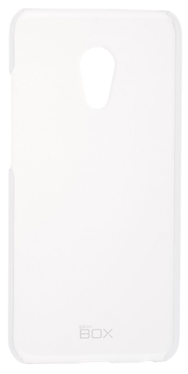 все цены на  Skinbox Crystal 4People чехол-накладка для Meizu Pro 6, Clear  онлайн