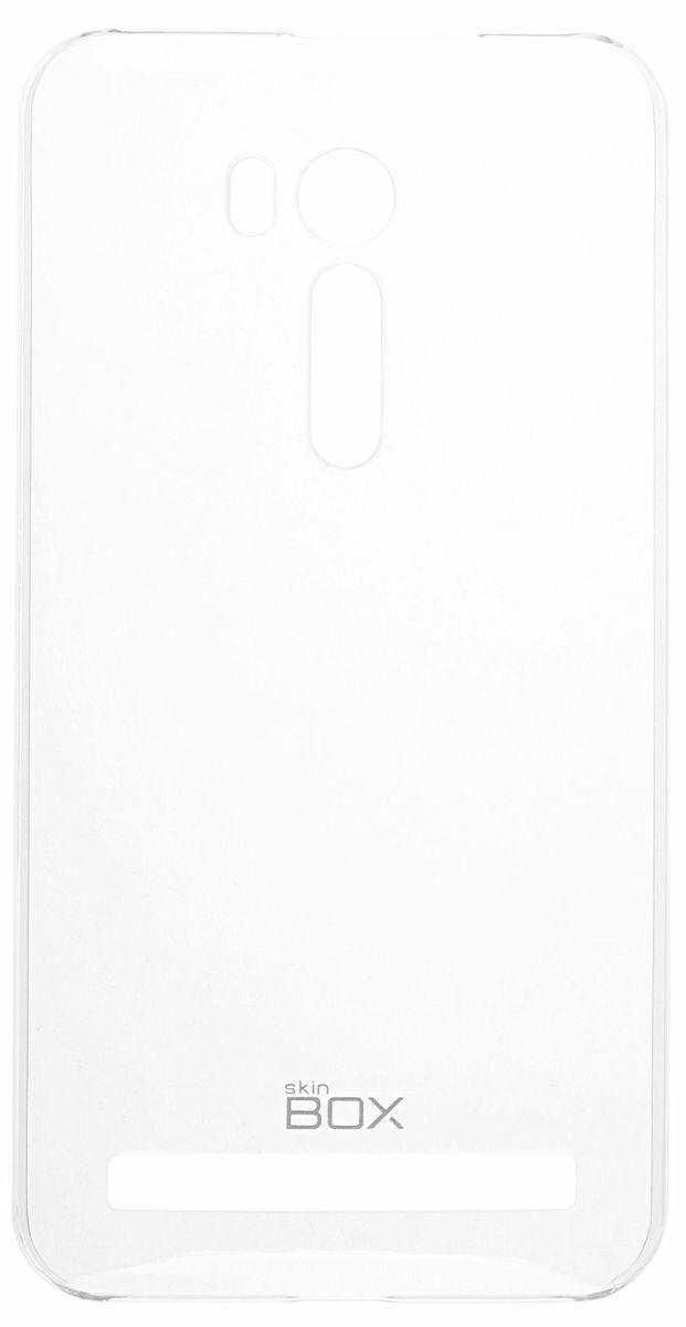 Skinbox Crystal 4People чехол-накладка для Asus Zenfone Go ZB551KL, Clear2000000092911Чехол Skinbox Crystal 4People для Asus Zenfone Go ZB551KL надежно защитит ваш смартфон от внешних воздействий, грязи, пыли, брызг. Он также поможет при ударах и падениях, не позволив образоваться на корпусе царапинам и потертостям. Чехол обеспечивает свободный доступ ко всем функциональным кнопкам смартфона и камере.
