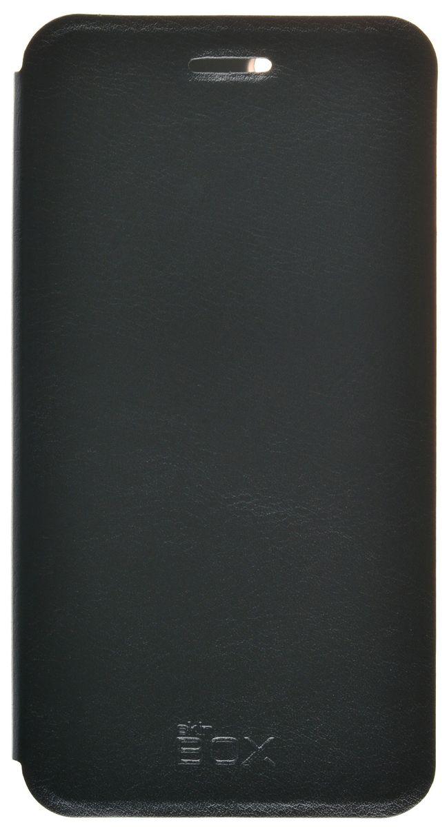 Skinbox Lux чехол для Lenovo K5/K5 Plus, Black skinbox lux чехол для lenovo vibe s1 black
