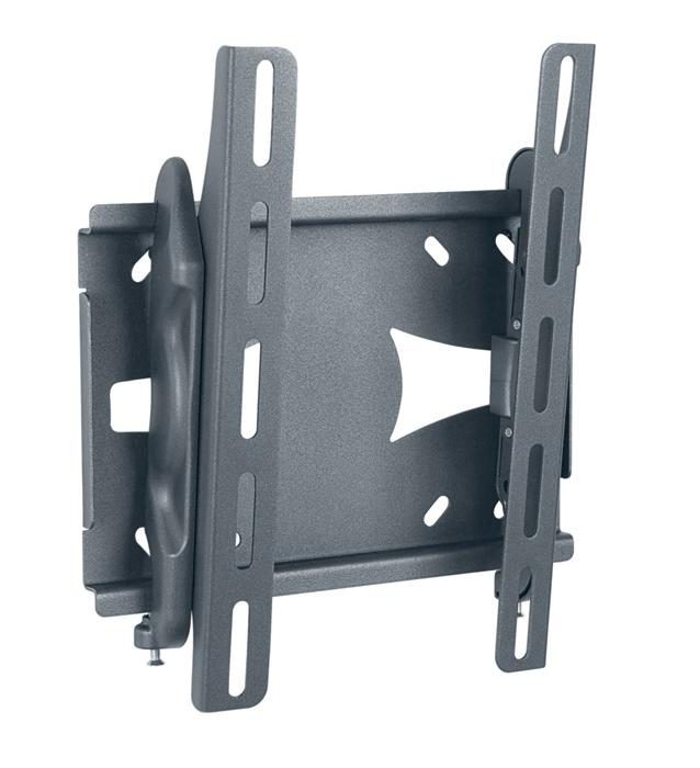 Holder LCDS-5010М, Black кронштейн для ТВLCDS-5010М, черныйКронштейн для ТВ Holder LCDS-5010M предназначен для настенного крепления ТВ и мониторов ПК. Конструкция окрашена в цвет черный металлик. Это не только придает эффектности, но и предохраняет от выцветания.