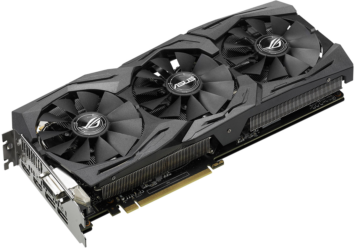ASUS Strix GeForce GTX 1070 O8G Gaming 8GB видеокарта