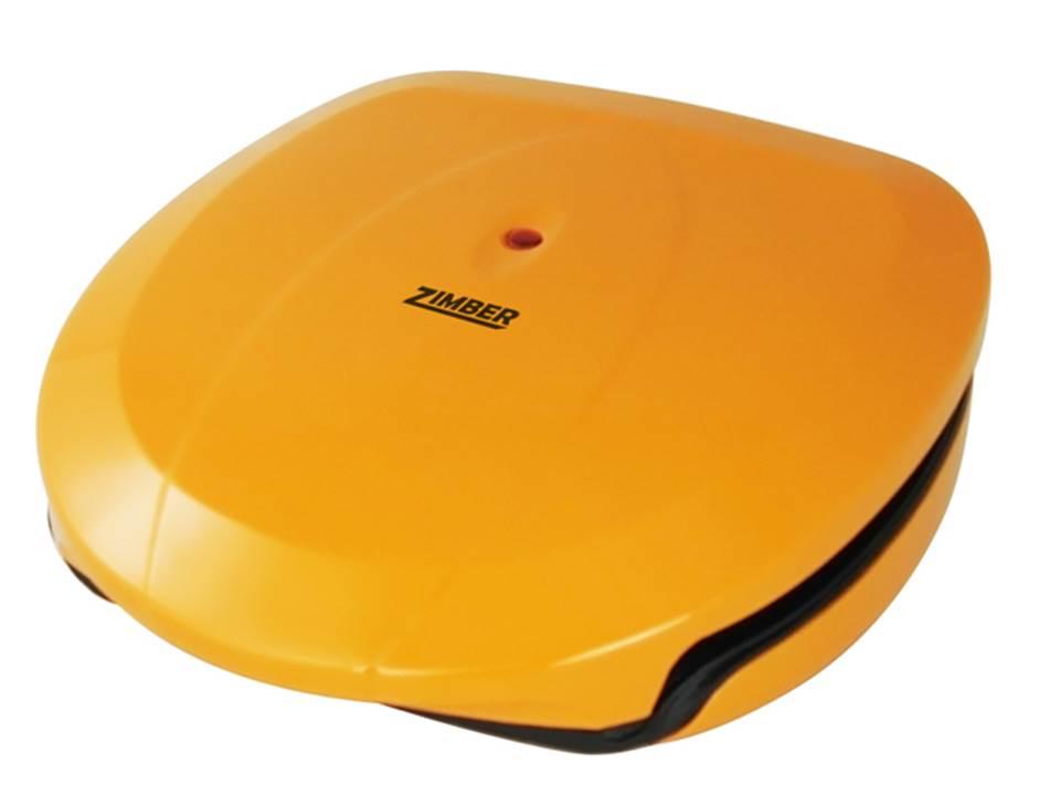 Zimber ZM-10801 электрогрильZM-10801Гриль Zimber ZM-10801 предназначен для приготовления горячих бутербродов и сендвичей. Благодаря антипригарному покрытию блюда, которые вы готовите, не будут пригорать. Корпус не будет нагреваться во время работы прибора, так что вы не рискуете случайно обжечься. Этот гриль очень прост в уходе, он легко и просто чистится.