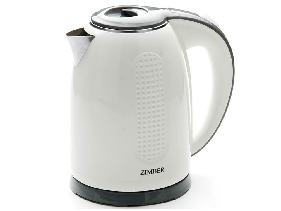 Zimber ZM-11075 электрический чайникZM-11075Чайник электр.ZIMBER 11075-ZM НЕРЖАВЕЙКА 1,7л 2200Вт (х8)