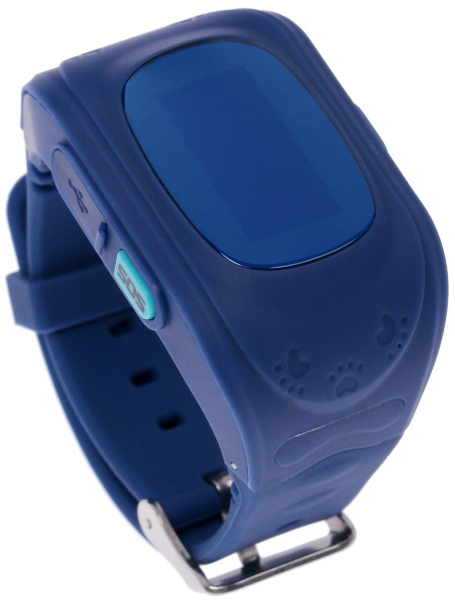 Кнопка жизни К911, Blue часы-телефон с GPS-геолокацией - Умные часы