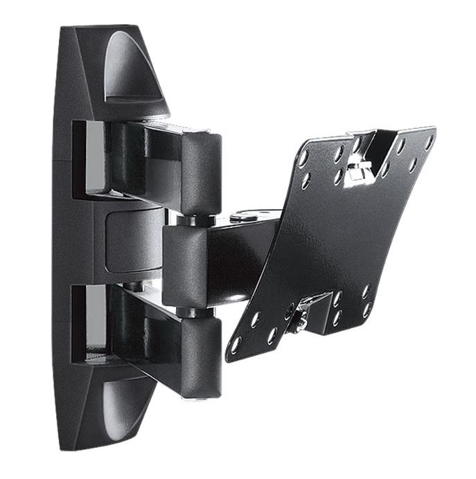 Holder LCDS-5065, Black Gloss кронштейн для ТВLCDS-5065, черный глянецФункциональный кронштейн для LCD мониторов и плазменных панелей с диагональю 19-32 и весом до 30 кг.