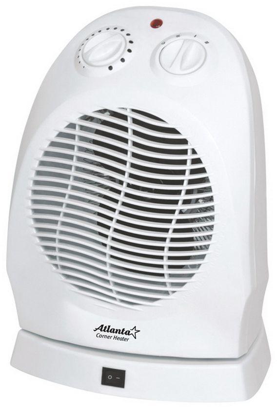 Atlanta ATH-7285 тепловентиляторATH-7285ТепловентиляторATH-7285 служит для быстрого прогрева помещения с наименьшими затратами электроэнергии. Принудительно нагнетая горячий воздух, тепловентилятор заставляет его циркулировать, смешиваясь с холодным, благодаря чему прогрев помещения происходит значительно быстрее, чем в случае обычных обогревателей. Тепловентилятор ATH-7285 может работать в режиме обычного вентилятора, а также нагнетать теплый или горячий воздух. Используя разные режимы работы можно добиться установления в помещении устойчивого и комфортного микроклимата. Материал корпуса - термостойкий пластик абсолютно безвреден и соответствует всем стандартам безопасности. 3 режима работыРежим вентилятора без нагрева, режим теплого потока воздуха и режим горячего потока воздуха.