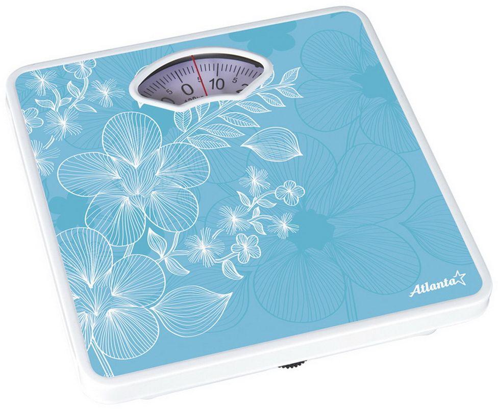 Atlanta ATH-6100, Blue весы напольные весы atlanta ath 6162 green