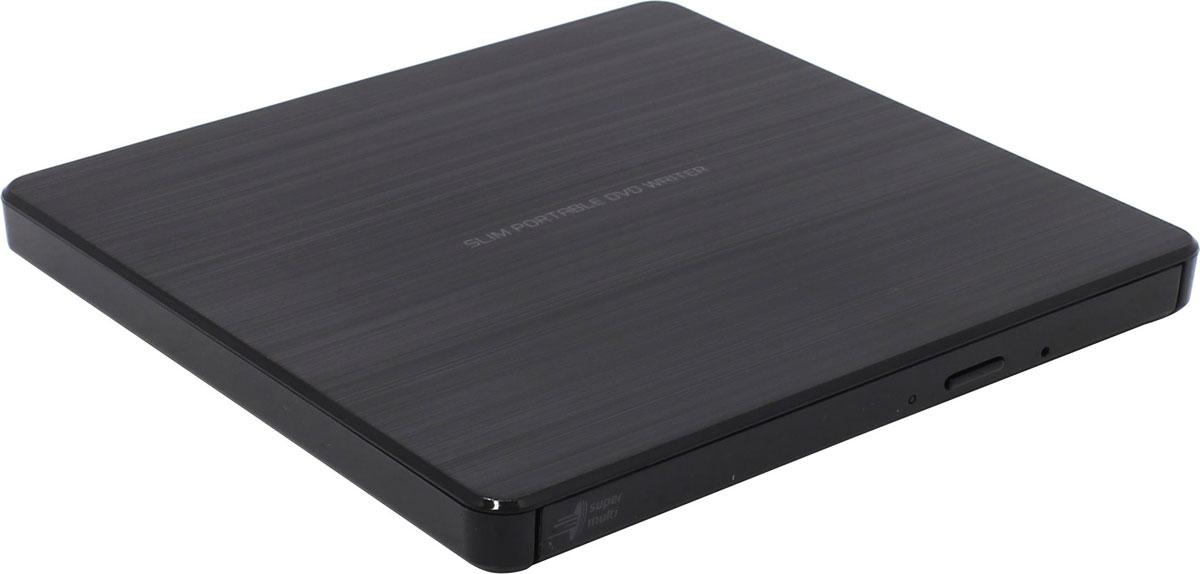 LG GP60NB60, Black внешний оптический приводGP60NB60Компактный внешний DVD-привод LG GP60NB60 станет отличным решением для ультрабуков и нетбуков, лишенных встроенных оптических приводов. Устройство подключается к персональному компьютеру посредством интерфейса USB 2.0 и поддерживает чтение и запись большинства современных форматов оптических носителей. Данная модель также отличается быстротой и минимальным уровнем шума при работе.Скорость чтения CD-R/RW: 24x Max; DVD-RAM: 5x, DVD+/-RW: 8x/6x; DVD±R SL/DL 8x/6x Скорость записи DVD-Video/ROM: 4x/8x; DVD+R SL/DL/RW: 8x; DVD-RAM: 6x; CD-ROM/R/RW: 24x MTBF: 60 тыс. часовТребования к системе: Pentium IV 2.4 ГГц, ОЗУ 256 Мб, 20 Гб на жестком диске ОС: Windows 8, 7, Windows Vista, Windows XP, Mac OS X 10.5.4
