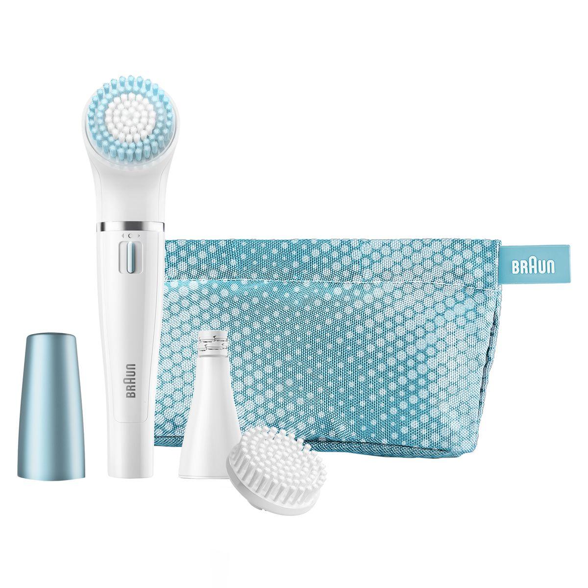 Braun Face 832e щеточка для очищения + эпилятор для лица