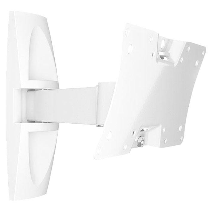 Holder LCDS-5063, White кронштейн для ТВLCDS-5063, белыйМногофункциональныйТелевизор на кронштейне Holder LCDS-5063 наклоняется и поворачивается в любую сторону!БезопасныйФиксирующий механизм надежно удерживает телевизор.Легкая установкаТелевизор с легкостью выравнивается по горизонтали.Простая регулировкаУгол наклона и поворота ТВ меняется движением одной руки!Полная комплектацияВ набор Holder LCDS-5063 входят все необходимые крепежи и инструкция по установке.