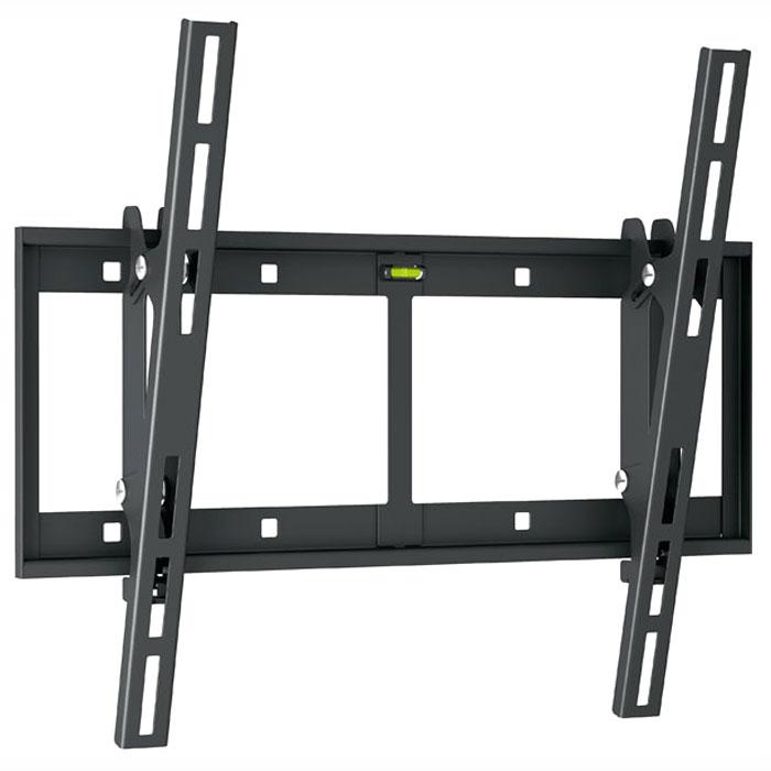 Holder LCD-T4609-B, Black кронштейн для ТВLCD-T4609-BУсиленное основаниеУвеличенное по размеру и толщине металла основание Holder LCD-T4609-B обеспечивает надежное крепление техники весом до 60 кг. Конструкция основания равномерно распределяет нагрузку на кронштейн.Система Double HookКонструкция опоры с двойным крюком обеспечивает двойную надежность фиксации ТВ на кронштейне. Нагрузка на планку основания распределяется равномерно.Автоматическая защелка Auto LockСпециальная защелка легко фиксирует ТВ на кронштейне за один щелчок. Защелка на опоре срабатывает автоматически.Сталь ГОСТ 1055-88Высокопрочная сталь толщиной 2 мм обеспечивает максимальную надежность кронштейна.Дополнительная страховкаКронштейн Holder LCD-T4609-B крепится к стене на 4 винта. Также в конструкции предусмотрены 4 дополнительных страховочных отверстия.Система Smart settingОснование кронштейна можно выровнять по горизонту благодаря крепежным отверстиям специальной формы.Пузырьковый уровеньУдобная опция для выравнивания кронштейна по горизонту при установке на стену.Простой демонтаж ТВДля снятия телевизора с кронштейна необходимо потянуть за стропу.Плавная регулировкаУгол наклона ТВ на кронштейне меняется легким движением руки без использования инструментов.Полная комплектацияВ набор Holder LCD-T4609-B входят все необходимые крепежи и инструкция по установке.