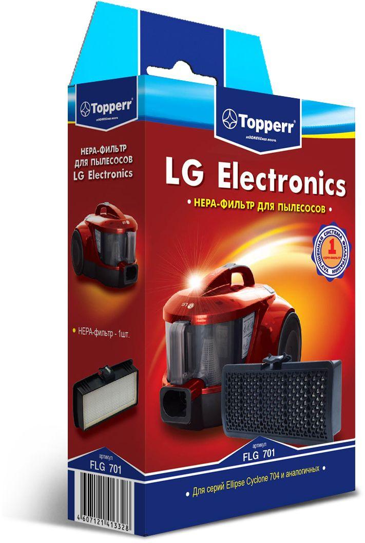 Topperr FLG 701 HEPA-фильтр для пылесосовLG Electronics1129HEPA-фильтр Topperr FLG 701 предназначен для пылесосов LG ELECTRONICS.Обладает высочайшей степенью фильтрации, задерживает 99,5 % пыли.Благодаря специальной концентрации и свойствам фильтрующего материала, фильтр улавливает мельчайшие частицы, позволяя очищать воздух от пыльцы, микроорганизмов, бактерий и пылевых клещей. Своевременная замена фильтра обеспечивает правильную работу пылесоса, продлевая срок его эксплуатации.