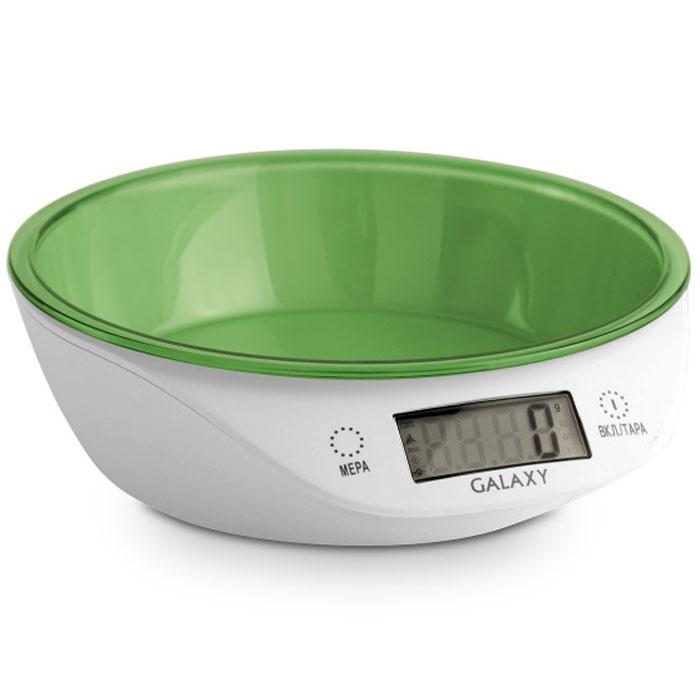 Galaxy GL 2804, Green весы кухонные indesit iwud 4085