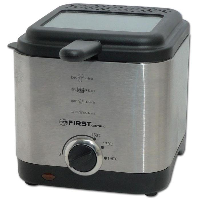 First FA-5058-1, Grey фритюрницаFA-5058-1GreyФритюрница First FA-5058-1объемом 1,5 литра очень удобна и проста в эксплуатации, а благодаря своим компактным размерам не возникнет проблем с её размещением и хранением. С помощью данной модели можно приготовить блюда для всей семьи за небольшой промежуток времени: пончики, рыбные палочки, куриные ножки, креветки, картофель-фри и многое другое. Ненагревающийся корпус изготовлен из нержавеющей стали. Чаша с антипригарным покрытием упрощает уход за прибором.Встроенный металлический фильтр против запахов является наиболее экономичным вариантом, так как не требует замены. Контрольная лампочка-индикатор нагрева поможет легко определить подходящее время для загрузки продуктов. Большое смотровое окошко позволяет следить за степенью готовности блюда.