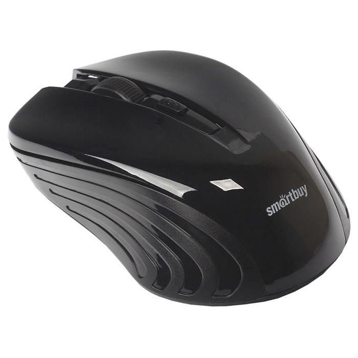 SmartBuy One 340AG, Black мышьSBM-340AG-KСпециальный высокоточный сенсор SmartBuy One 340AG с разрешением 800/1200/1600 dpi обеспечивает уверенную работу даже на неровных и рельефных поверхностях. Радиус беспроводной связи составляет 10 метров, что обеспечивает большую свободу действий. В комплект с устройством входит миниатюрный USB-приемник, который легко прячется в корпус.