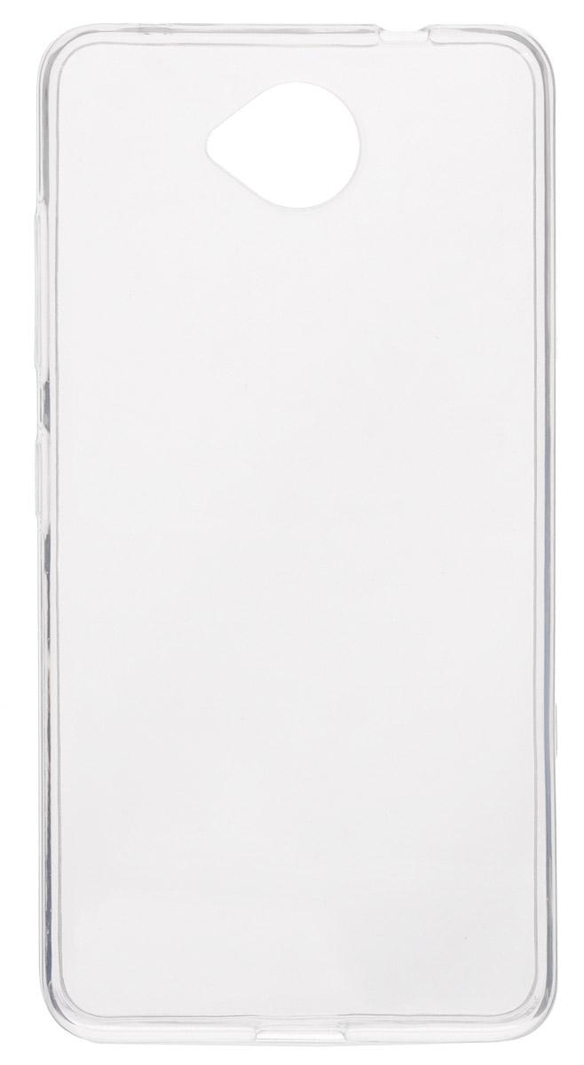 Red Line iBox Crystal чехол для Microsoft Lumia 650, ClearУТ000008212Практичный и тонкий силиконовый чехол Red Line iBox Crystal для Microsoft Lumia 650 защищает телефон от царапин, ударов и других повреждений. Чехол изготовлен из высококачественного материала, плотно облегает смартфон и имеет все необходимые технологические отверстия, соответствующие модели телефона.Силиконовый чехол iBox Crystal долгое время сохраняет свою первоначальную форму и не растягивается на смартфоне.