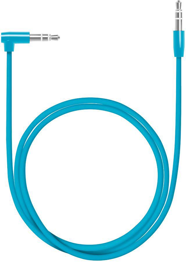 Deppa Aux Slim, Blue аудиокабель (1,2 м)72195Аудиокабель Deppa Aux Slim, Green предназначен для подключения вашего аудиоустройства к звуковоспроизводящему оборудованию, оснащенному входом AUX.