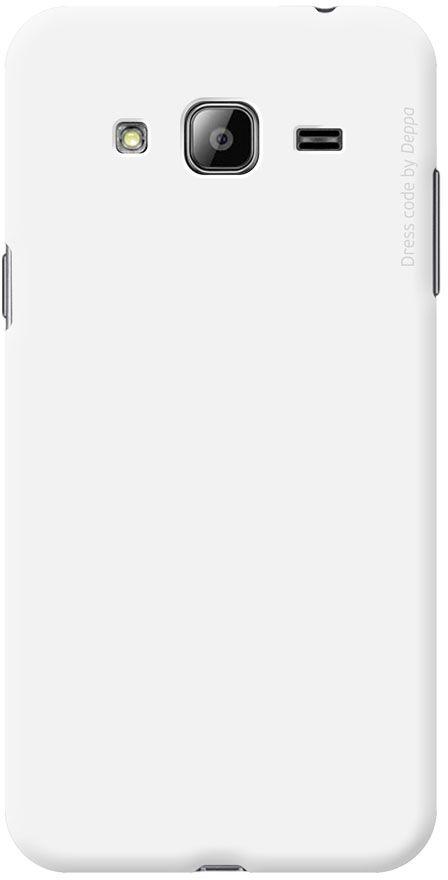 Deppa Air Case чехол для Samsung Galaxy J3 (2016), White83248Чехол Deppa Air Case для Samsung Galaxy J3 (2016) случай редкого сочетания яркости и чувства меры. Это стильная и элегантная деталь вашего образа, которая всегда обращает на себя внимание среди множества вещей. Благодаря покрытию soft touch чехол невероятно приятен на ощупь, поэтому смартфон не хочется выпускать из рук. Ультратонкий чехол (1 мм) повторяет контуры самого девайса, при этом готов принимать на себя удары - последствия непрерывного ритма городской жизни.Чехлы Deppa Air Case изготавливаются из высококачественного поликарбоната (PC) производства Вауеr, устойчивого к сколам, ударам и царапинам. Прочная поверхность чехла с покрытием soft touch обладает противоскользящим эффектом. Все функциональные отверстия чехла идеально подогнаны по размерам и местоположению, обеспечивая полный доступ к внешним портам, слотам и разъемам гаджета.