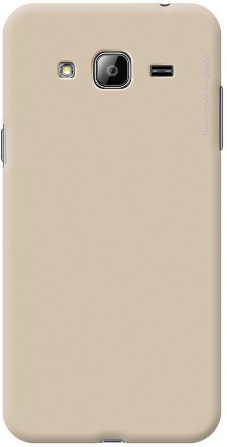 Deppa Air Case чехол для Samsung Galaxy J3 (2016), Gold83249Чехол Deppa Air Case для Samsung Galaxy J3 (2016) случай редкого сочетания яркости и чувства меры. Это стильная и элегантная деталь вашего образа, которая всегда обращает на себя внимание среди множества вещей. Благодаря покрытию soft touch чехол невероятно приятен на ощупь, поэтому смартфон не хочется выпускать из рук. Ультратонкий чехол (1 мм) повторяет контуры самого девайса, при этом готов принимать на себя удары - последствия непрерывного ритма городской жизни.Чехлы Deppa Air Case изготавливаются из высококачественного поликарбоната (PC) производства Вауеr, устойчивого к сколам, ударам и царапинам. Прочная поверхность чехла с покрытием soft touch обладает противоскользящим эффектом. Все функциональные отверстия чехла идеально подогнаны по размерам и местоположению, обеспечивая полный доступ к внешним портам, слотам и разъемам гаджета.
