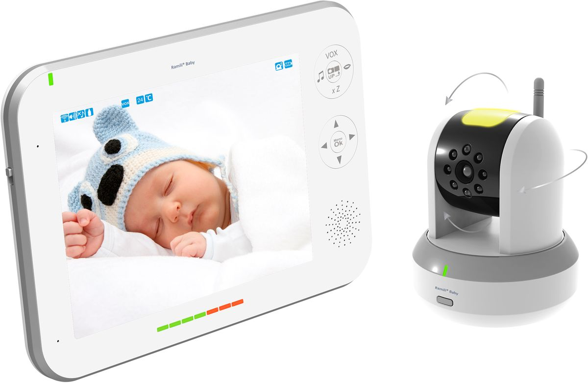 Ramili Видеоняня Baby RV700 -  Радио и видеоняни