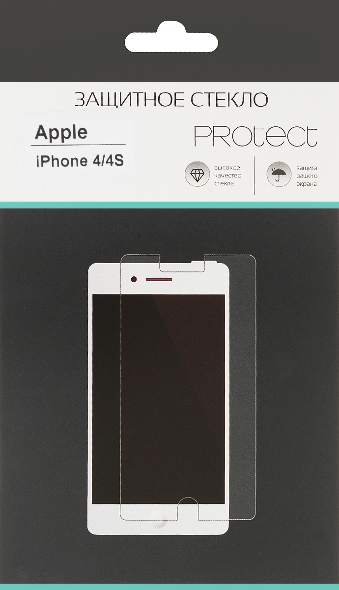 LuxCase Protect защитное стекло для Apple iPhone 4/4S, суперпрозрачное40001Защитное стекло LuxCase Protect для Apple iPhone 4/4S обеспечивает надежную защиту сенсорного экрана устройства от большинства механических повреждений и сохраняет первоначальный вид дисплея, его цветопередачу и управляемость. В случае падения стекло амортизирует удар, позволяя сохранить экран целым и избежать дорогостоящего ремонта. Стекло обладает особой структурой, которая держится на экране без клея и сохраняет его чистым после удаления.