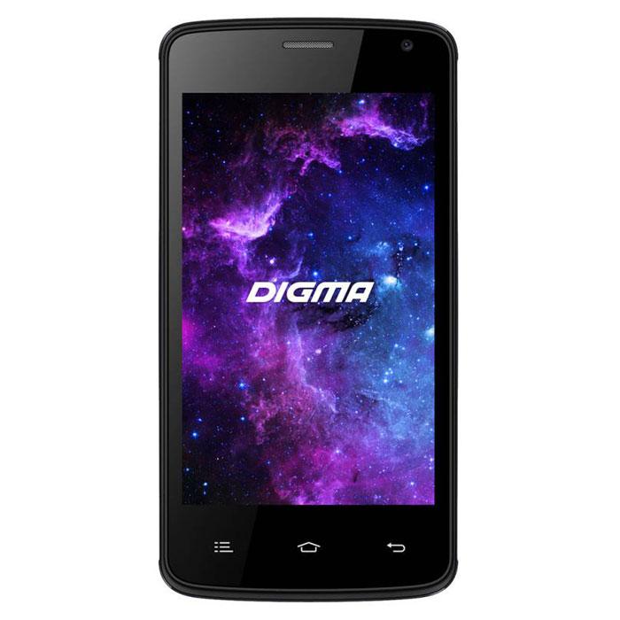 Digma Linx A400 3G, Dark GreyLT4001PGСмартфон Digma Linx A400 3G – компактная модель с четырехдюймовым сенсорным экраном и небольшими размерами, которые дают возможность управления функциями устройства одной рукой и помогают потреблять совсем небольшое количество энергии. Заряда батареи смартфона хватает примерно для 9 часов разговора или 15 дней работы в режиме ожидания.Встроенный высокосортной передатчик Wi-Fi позволяет вам быстро установить соединение с точкой доступа. Две SIM-карты дают возможность сочетать наиболее выгодные тарифные планы для голосового общения или мобильного интернета. Современный четырехъядерный процессор легко справляется с работой в режиме многозадачности.Смартфон Digma Linx A400 3G оснащен двумя камерами: основная 2-мегапиксельная со светодиодной вспышкой поможет вам получить четкие снимки даже при слабом освещении. Фронтальная камера позволит делать звонки по видеосвязи.Функция GPS без труда определит местоположение пользователя, поможет построить маршрут или отметить интересующую вас точку на местности. Телефон сертифицирован EAC и имеет русифицированную клавиатуру, меню и Руководство пользователя.