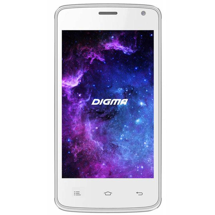 Digma Linx A400 3G, WhiteLT4001PGСмартфон Digma Linx A400 3G - компактная модель с четырехдюймовым сенсорным экраном и небольшими размерами, которые дают возможность управления функциями устройства одной рукой и помогают потреблять совсем небольшое количество энергии. Заряда батареи смартфона хватает примерно для 9 часов разговора или 15 дней работы в режиме ожидания.Встроенный высокосортной передатчик Wi-Fi позволяет вам быстро установить соединение с точкой доступа. Две SIM-карты дают возможность сочетать наиболее выгодные тарифные планы для голосового общения или мобильного интернета. Современный четырехъядерный процессор легко справляется с работой в режиме многозадачности.Смартфон Digma Linx A400 3G оснащен двумя камерами: основная 2-мегапиксельная со светодиодной вспышкой поможет вам получить четкие снимки даже при слабом освещении. Фронтальная камера позволит делать звонки по видеосвязи.Функция GPS без труда определит местоположение пользователя, поможет построить маршрут или отметить интересующую вас точку на местности. Телефон сертифицирован EAC и имеет русифицированную клавиатуру, меню и Руководство пользователя.